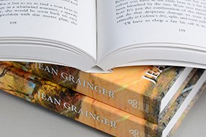 Ota binding on book