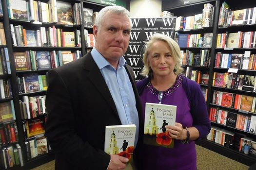 Gerry & Me at the Launch