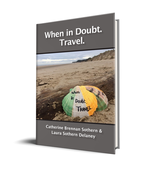 """""""When in Doubt Travel"""" hardback book - Print Pricing"""